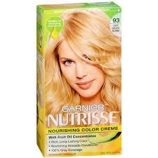 garnier nutrisse 93 light golden blonde reviews garnier nutrisse haircolor 93 light golden blonde 1 ea pack of 2