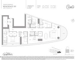 aston martin residences floor plans