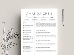 clean resume template resume template for word cv template