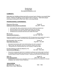 Recruiting Coordinator Resume Sample by Only Certain Employees Are Exempt From The Clock Nursing