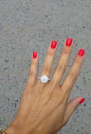 images of engagement rings the best engagement ring selfie pictures brides