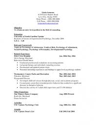 student internship cover letter examples psychology pertaining to
