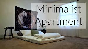 minimalist apartment tour youtube