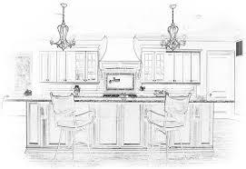 Kitchen Design Sketch Atlanta Kitchen Remodeling Kitchen Design And Organization
