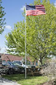 Extending Flag Pole Telescoping Flagpole Pvc Sleeve For Ground Insert