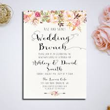 after wedding brunch invitation wording best 25 brunch invitations ideas on shower invitation