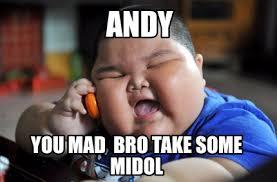 Midol Meme - meme maker andy generator