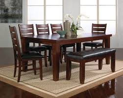 dark wood dining table with 6 chairs insurserviceonline com