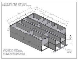 jeep bed plans surveyor u0027s organizers survey truck