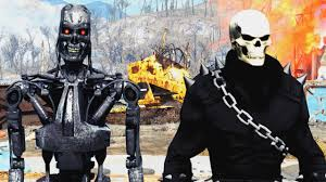 fallout 4 mods week 38 terminator ghost rider suit