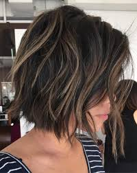 jagged layered bobs with curl 70 cute and easy to style short layered hairstyles bobs brown and