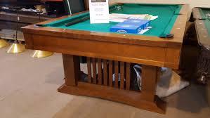 Used Billiard Tables by 8 U2032 Used Pool Table U2013 Brunswick Mission Royal Billiard U0026 Recreation