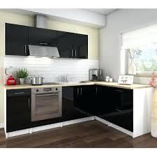cuisine noir laqué cuisine noir laque pas cher cosy cuisine complate 2m80 laquac noir