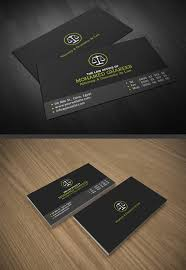 Business Cards Attorney Designs Of Print Ready Business Cards Design Graphic Design