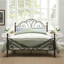 picturesque design ideas antique bed frame antique metal bed