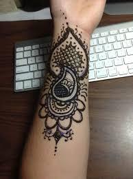 henna arm tattoo by blackwaterpanther on deviantart henna lion