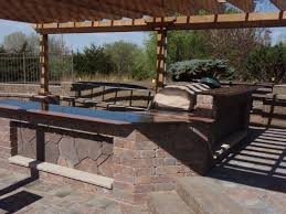 Pergola Kitchen Outdoor by Outdoor Living Space Kitchen Lincoln Ne Dreamscapes Inc