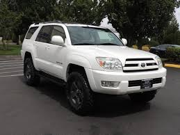 4runner toyota 2005 2005 toyota 4runner limited 4x4 leather sunroof lifted