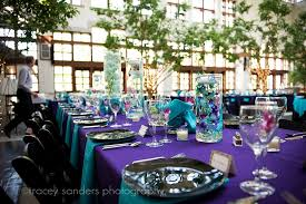 purple and turquoise wedding purple and turquoise reception the merry