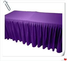table skirt clips with velcro table skirt clips get quotations a free shipping purple polyester
