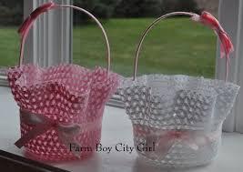 baskets for easter easter bonnet turned into easter basket for 2