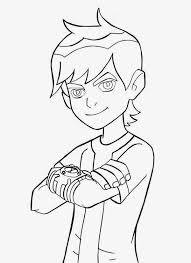 kids ben 10 coloring pages free coloring sheet