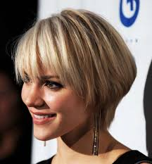 short hairstyles long bangs layers hairtechkearney