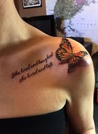 tattoo butterfly 3d buscar con google tattoo pinterest