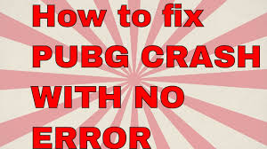 pubg keeps crashing pubg crash with no error possible fix youtube