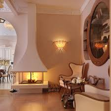Home Interior Sconces Decoration Artistic Home Interior Design Ideas With Fireplace