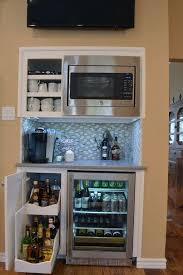 Home Bar Cabinet With Refrigerator - best 25 beverage bars ideas on pinterest the door into summer
