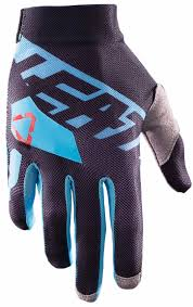 motocross gloves 2017 leatt gpx 2 5 x flow glove black blue motocross gloves