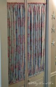 Kitchen Pantry Curtains Front Door Curtains How To Diy Handmade Happiness Pinterest