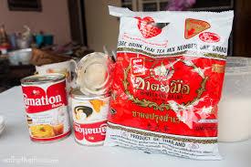 cara membuat thai tea latte thai iced tea recipe ชาเย น authentic street food style