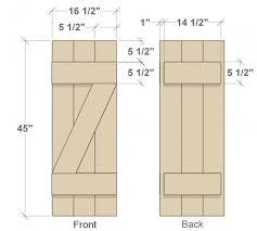 Wooden Window Shutters Interior Diy Build Your Own Wood Shutters For Under 40 Diy Shutters Wood