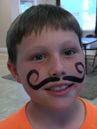 face paint mustache google search face painting pinterest
