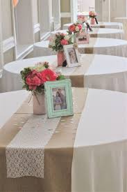 top design ideas coral table runners astonishing burlap table