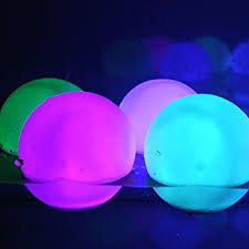 set of 12 mood light garden deco balls light up orbs