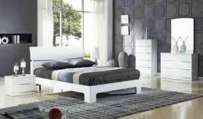 Bedroom Furniture Sets In High Gloss Or Wood Homegenies - White high gloss bedroom furniture set