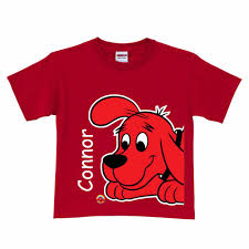 Clifford Big Red Dog Halloween Costume Clifford Big Red Dog Close Red Shirt Red Dog Birthdays