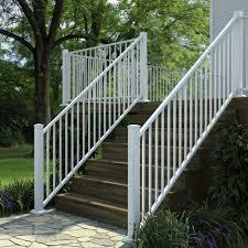 Porch Stair Handrail Metal Stair Railing Deck U0026 Porch Stair Railing Aluminum Steel