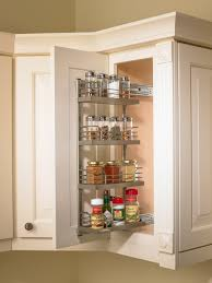 kitchen countertop spice rack pull down spice rack under