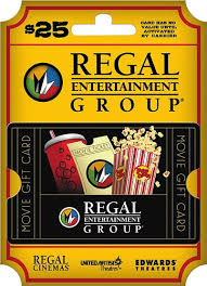 best place to get gift cards regal entertainment 25 gift card multi regal cinemas 25