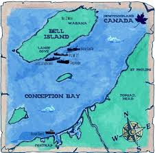 Newfoundland Canada Map by Bell Island Newfoundland Intotheplanet