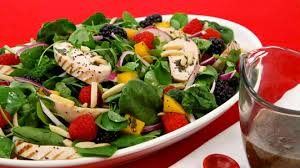 spinach salad with chicken and fruit best recipes ever