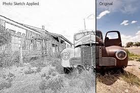 photo sketch photoshop plugin