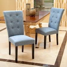 Upholstery Denim Mercury Row Danner Parsons Chair Upholstery Denim Blue Products