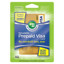 prepaid reloadable cards green dot prepaid debit cards green dot products