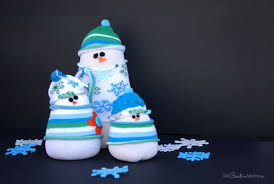 Diy Sock Snowman Adorable Sock Snowman Kids Craft And Winter Decor