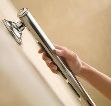 designer grab bars for bathrooms amazon com moen lr8724d2bn 24 inch designer bathroom grab bar